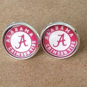 Jewelry - University of Alabama Crimson Tide earrings
